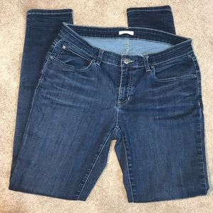 Eileen Fisher | Straight Leg Medium Wash Jeans